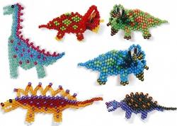 сувениры своими руками. динозавры из бисера