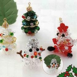 сувениры из бусин на новый год