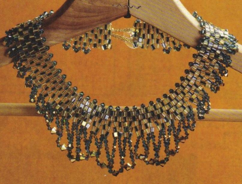 Ожерелья из бисера.  Материлы: Нить нейлоновая или.