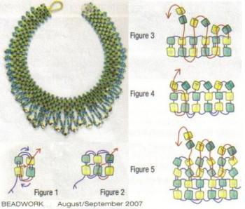 плетем украшения из кристаллов