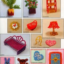 игрушки из бисера своими руками