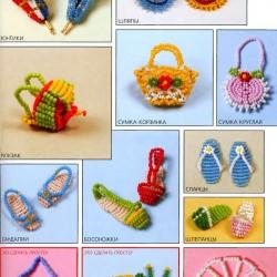 игрушки сплетенные из бисера