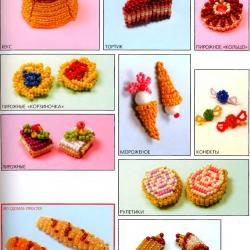 маленькие игрушки из бисера