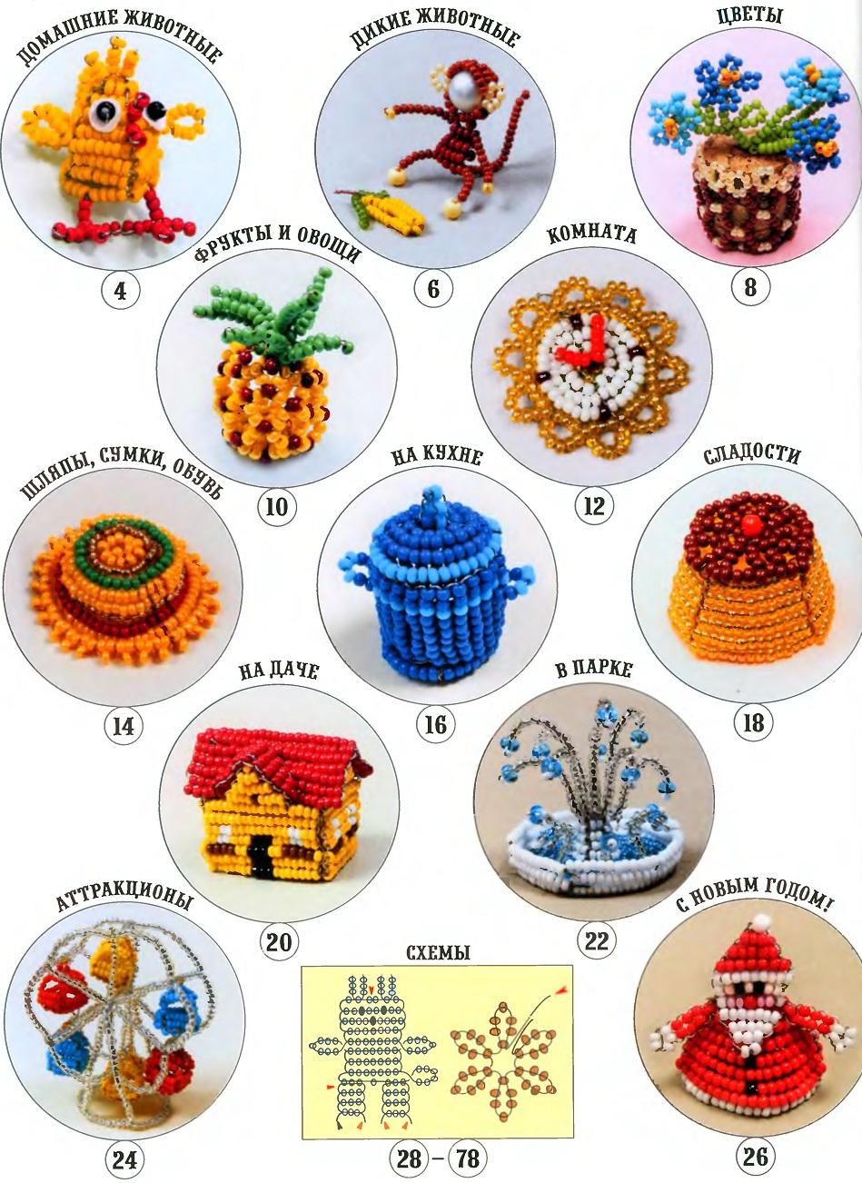 разные сувениры из бисера. миниатюрные игрушки из бисера.