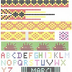 плетение украшений из разноцветного бисера