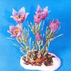 плетем красивые цветы