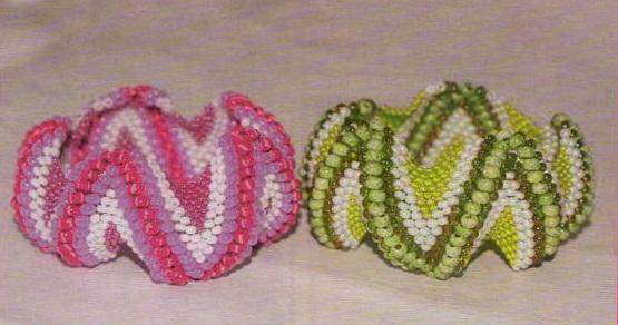 бисероплетение змея схема - О том, как плести бисером.