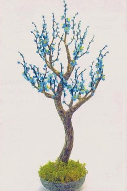 бонсай цветочное дерево