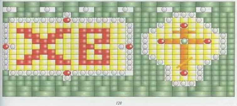 схема пасхального яйца
