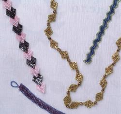 плетем браслеты из рубки