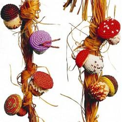 грибочки из бисера