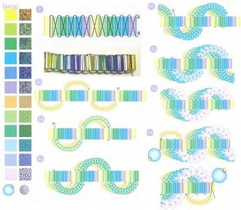 плетем браслет из бисера