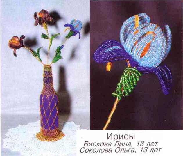 букет цветов ириса