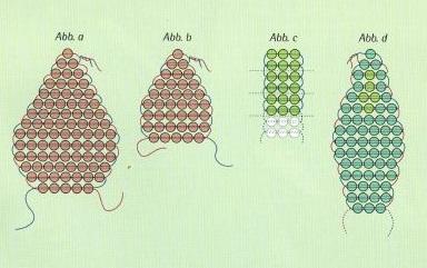 Как сделать цветок из бисера Плетение для начинающих
