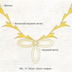 плетем ожерелье из бисера