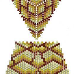 шкатулка Египет и схема