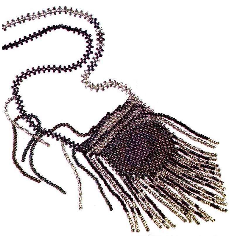 кулон перо павлина. кулон из бисера.