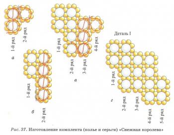 схема ожерелья