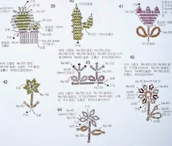 Фигурки из бисера 53 вида-1.