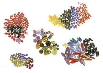 разнообразный бисер