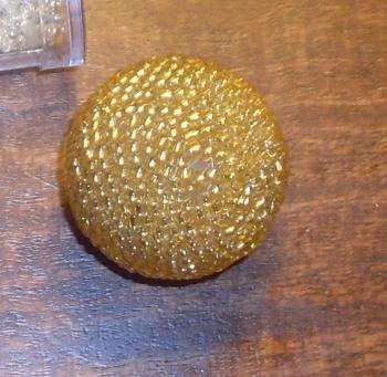 золотой шарик