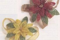 Цветы пуансетии