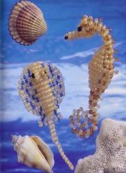 морские рыбы из бисера
