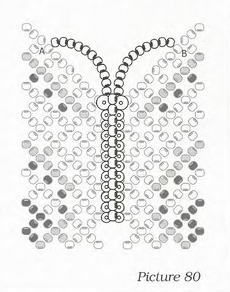 тельце бабочки,