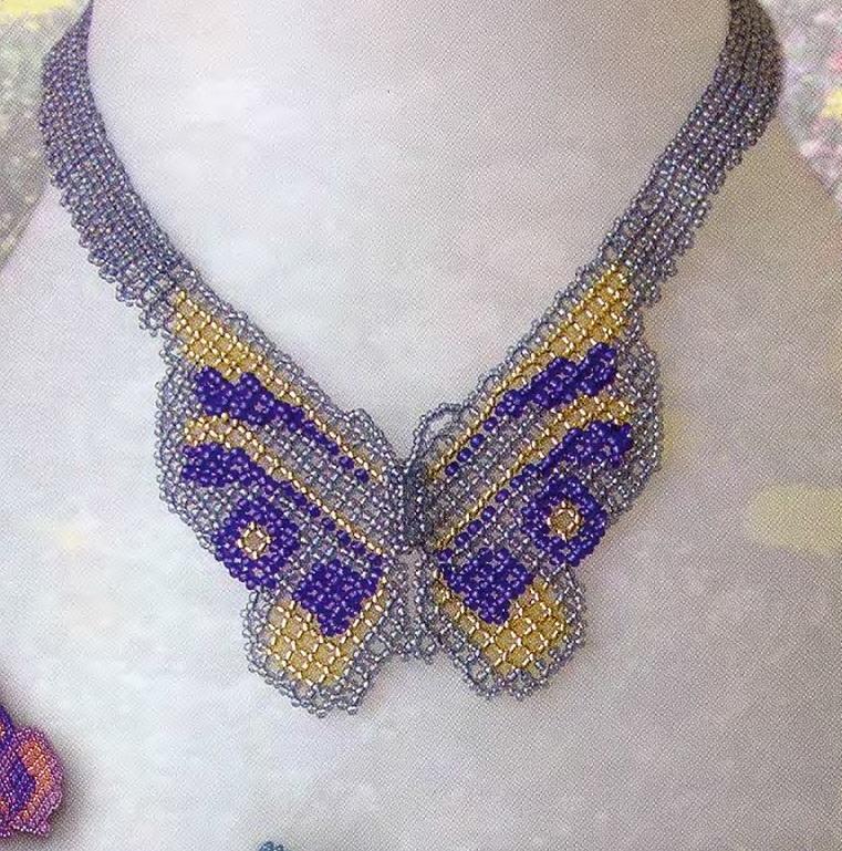 Красивое украшение на шею, сделанное своими руками.