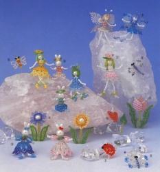 мини игрушки из бисера