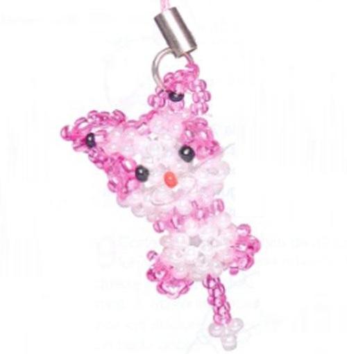 розовый кот