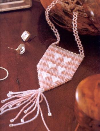 розовая сумочка на шею