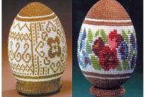 оплетение яиц