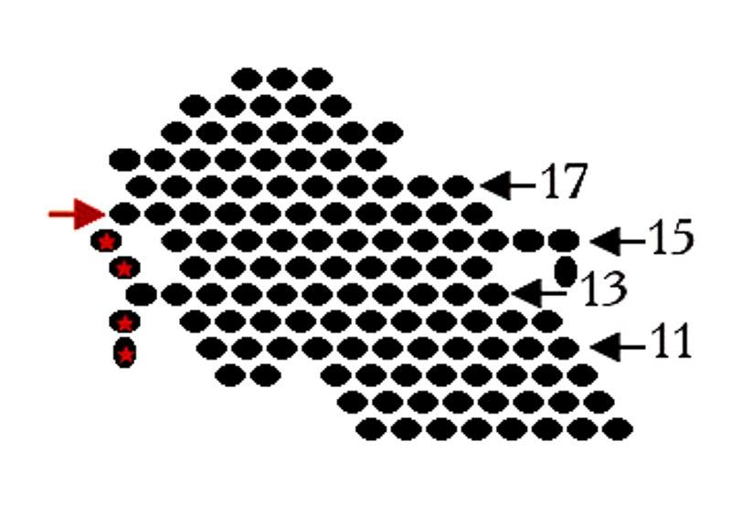 схема плетения брелка из