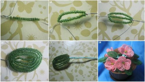 Как сделать лепесток фиалки из бисера - Asynet.ru