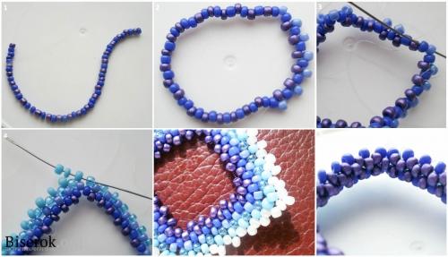 мозаичное плетение