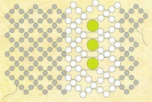 Схема для плетения браслета гусеница из бисера