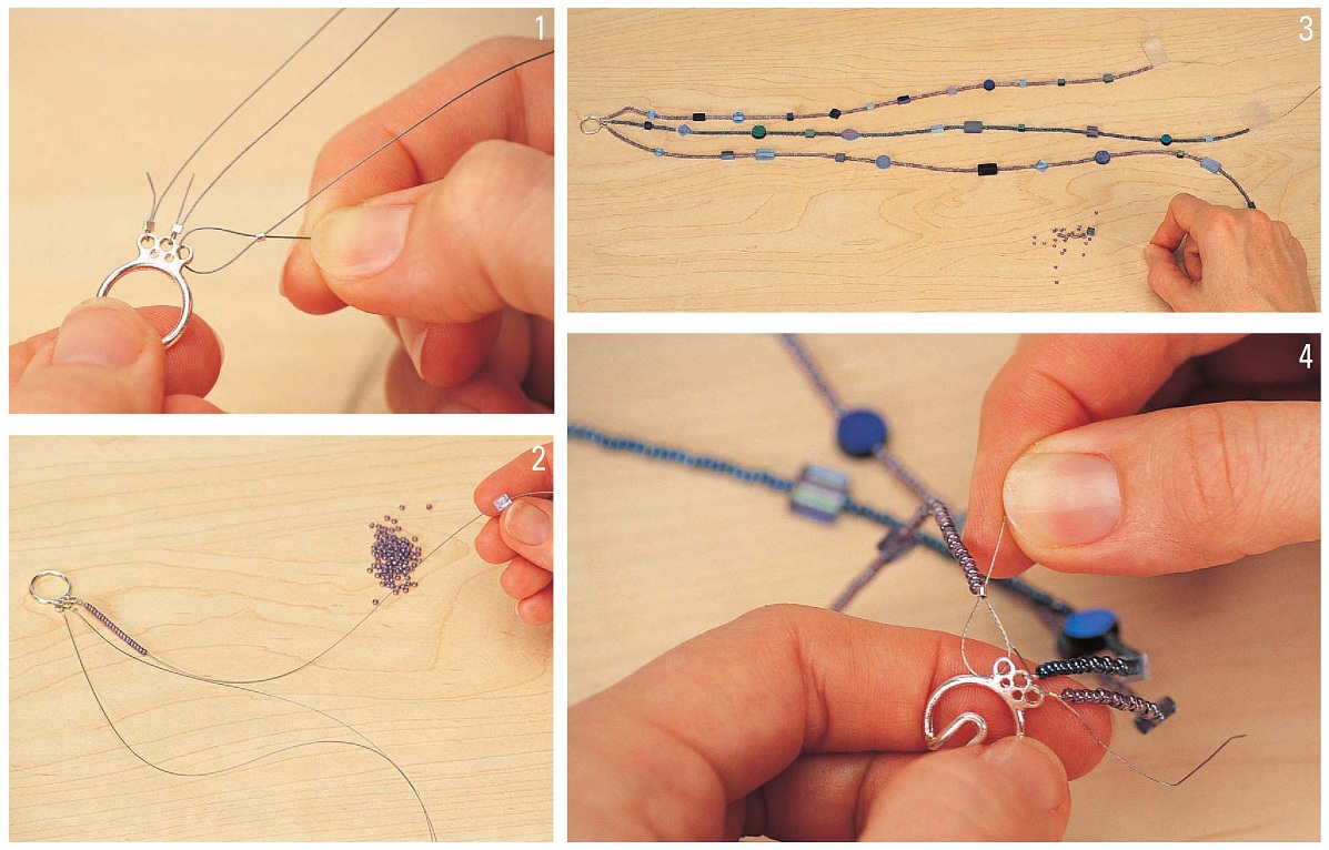 Как делать украшения из бисера на руки