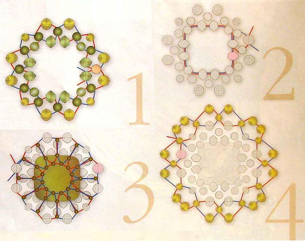 Схемы для бусин вышивка 81