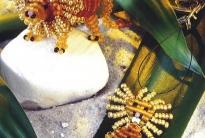 Знак зодиака Лев из бисера