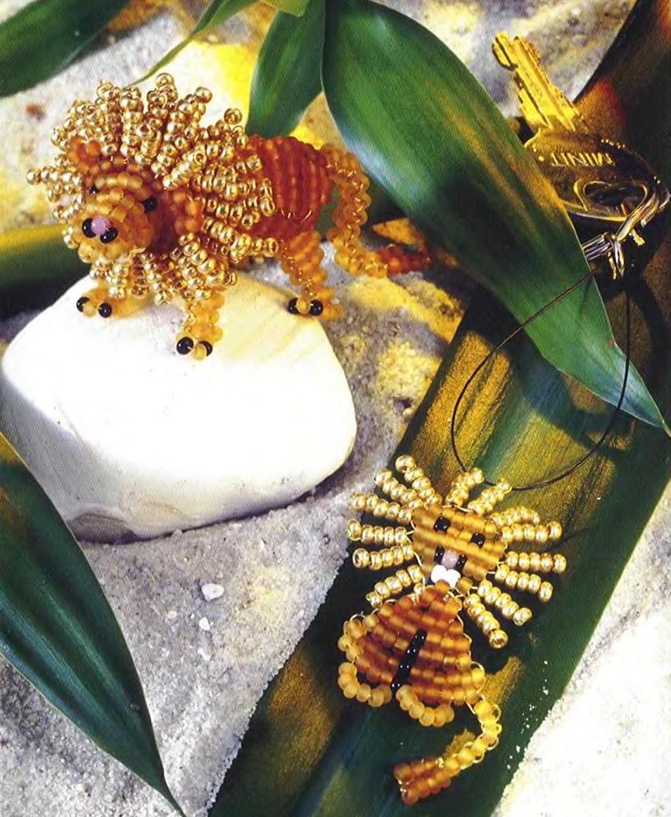 Схема плетения льва. бисер золотистый - бисер оранжевого цвета - бисер светло-желтого (бежевого) - бисер черного...