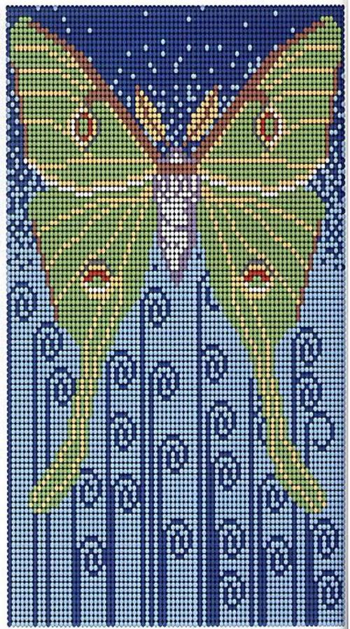 Плетем бабочку из бисера