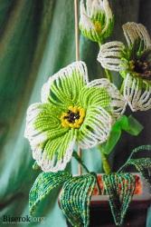 декорируем цветок