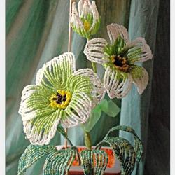Цветок Француз из бисера