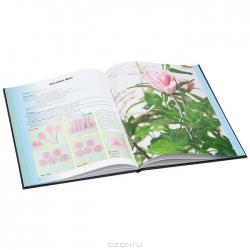 Страница книги цветы из бисера