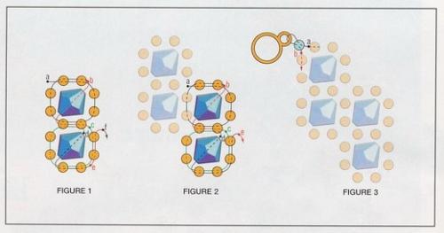 Схема плетения простого браслета из бусин