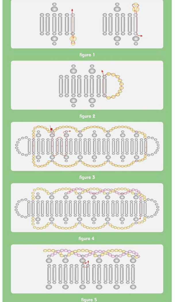 сложные браслеты из бисера схемы - О том, как плести бисером.