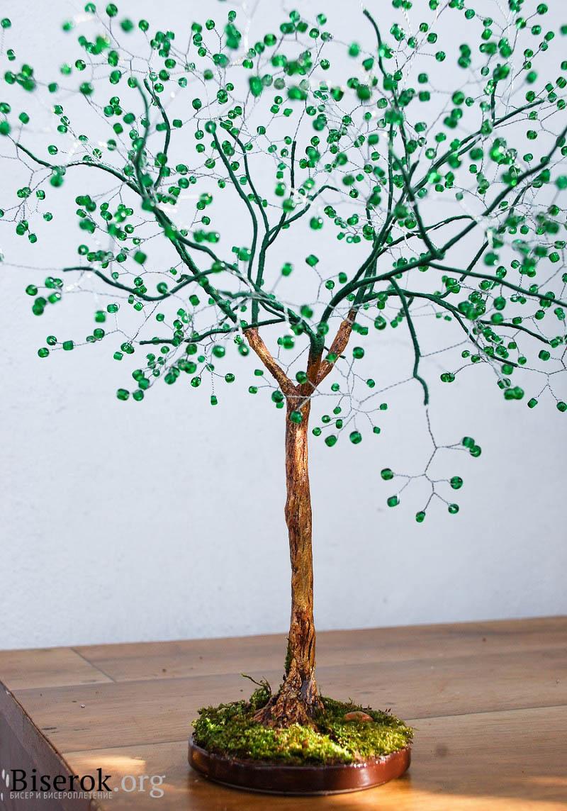 Как сделать живое дерево своими руками