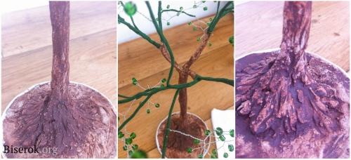 плетем дерево 6