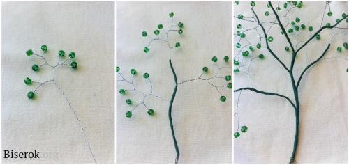 плетем дерево 1